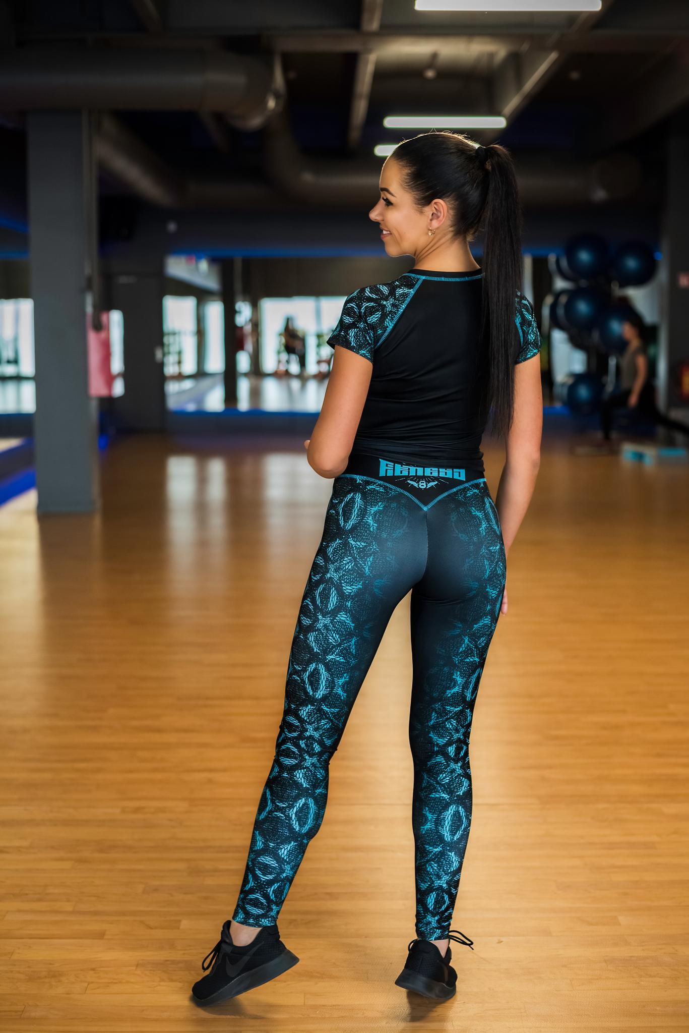 tamprės, leggings, sportinė palaidinė