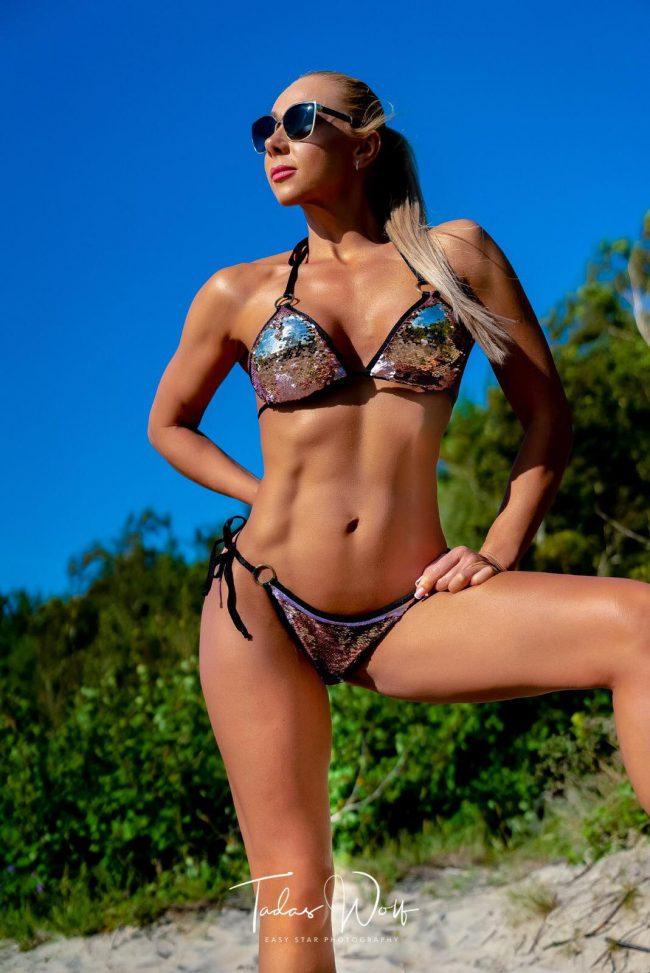 sequin bikini, bikini
