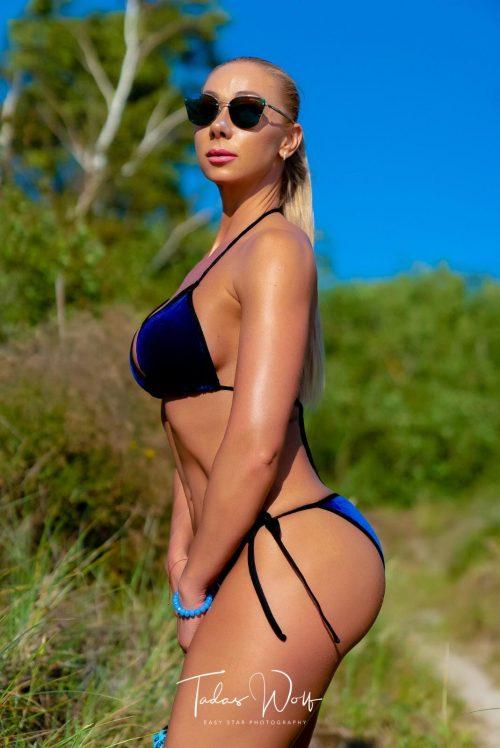 velvet bikini, aksominis maudymosi kostiumėlis