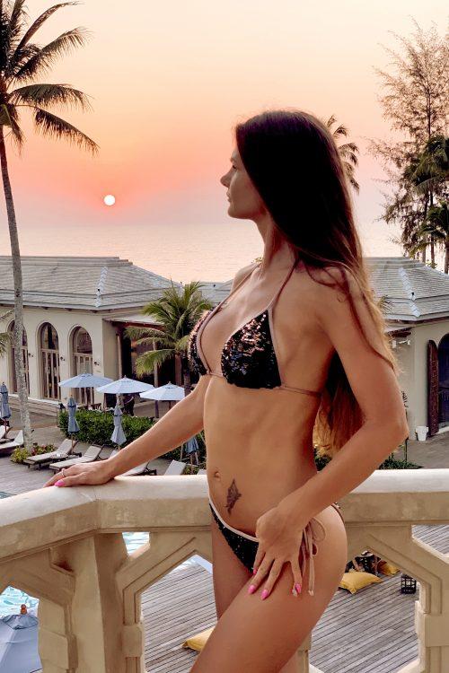 Maudymukas, bikini