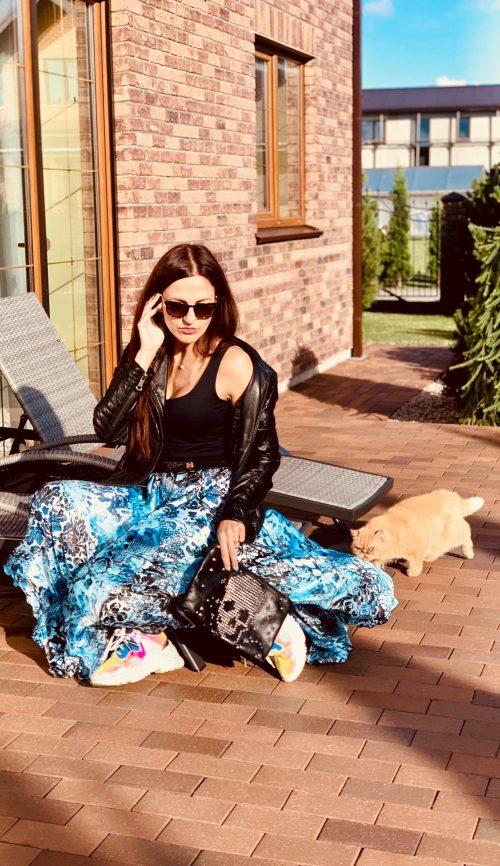 Saulės kliošo sijonas